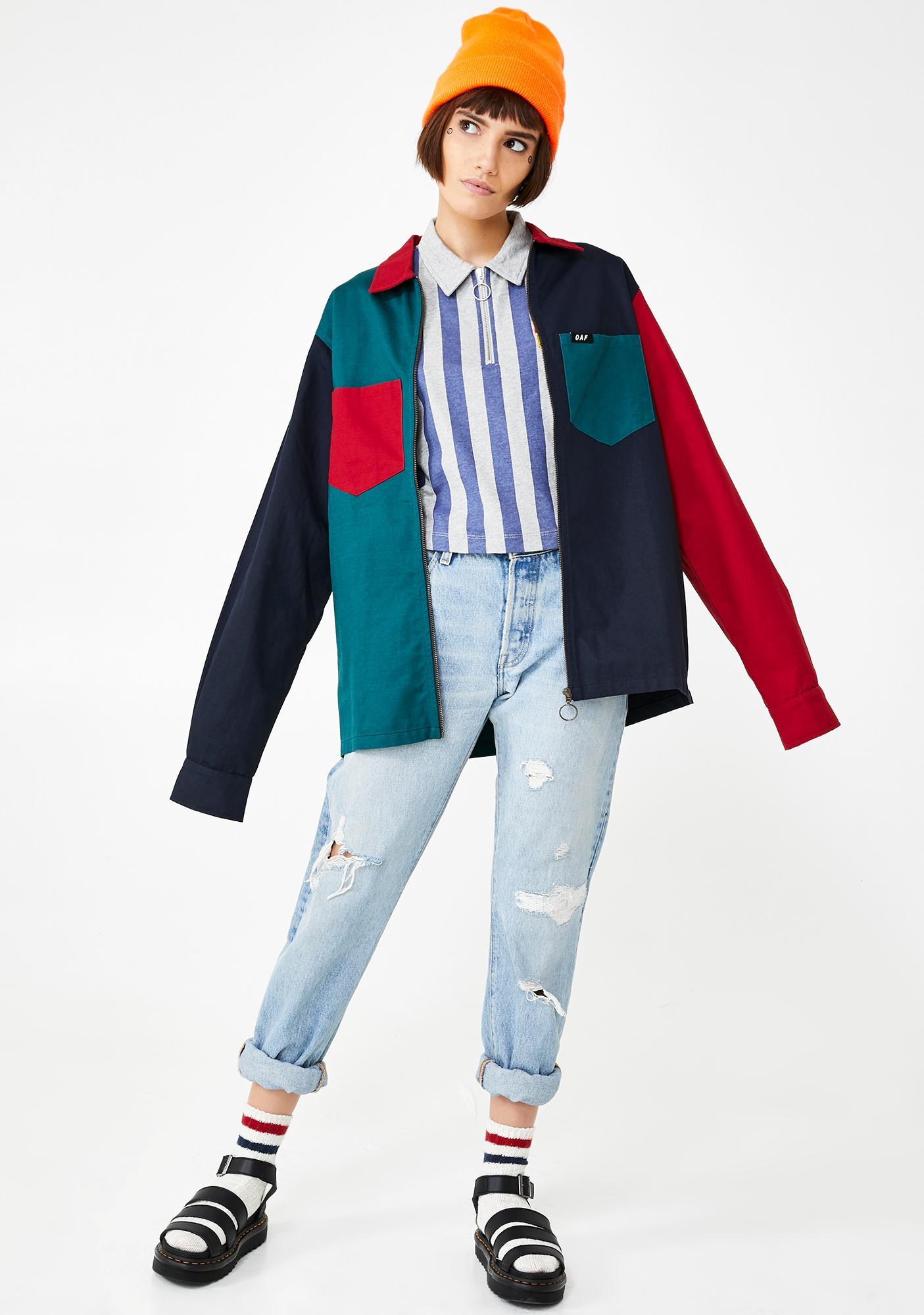 Lazy Oaf Warm Up Crop Shirt