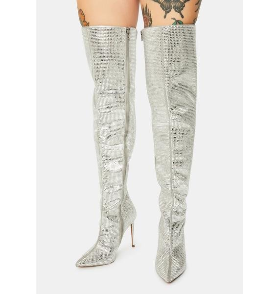 Steve Madden Skyscraper Over The Knee Boots
