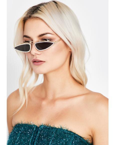 Resting Bish Face Tiny Sunglasses
