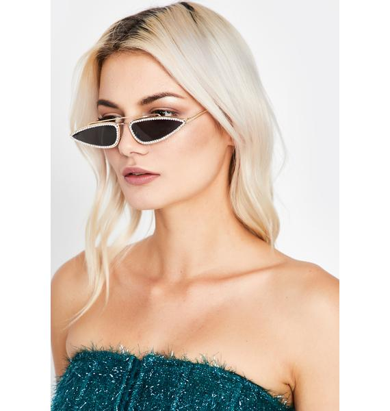 Resting Bish Face Tiny Sunglasses