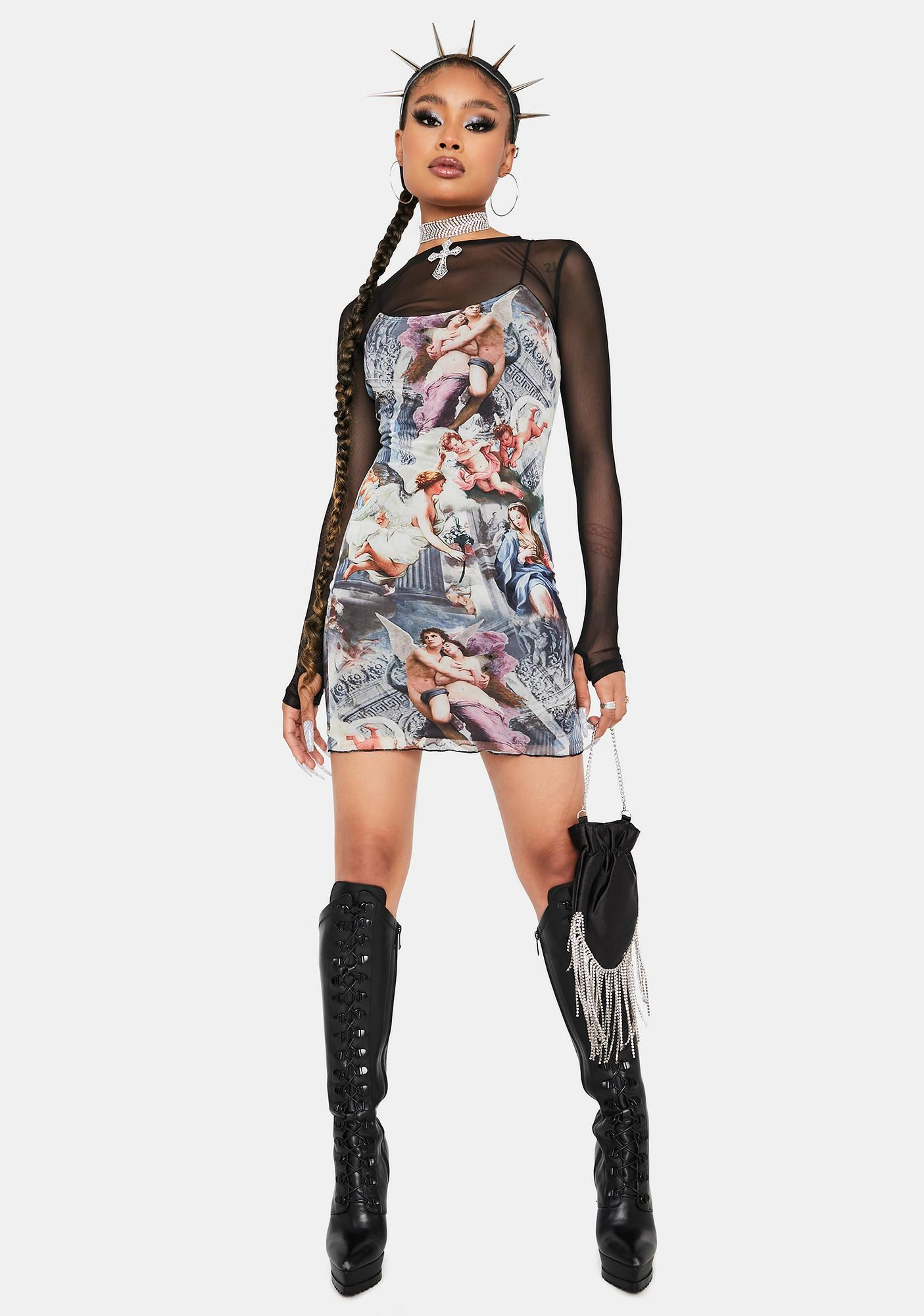 Lost In History Bodycon Dress