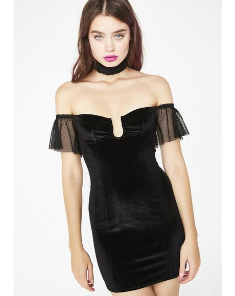 Minxy Muse Choker Dress
