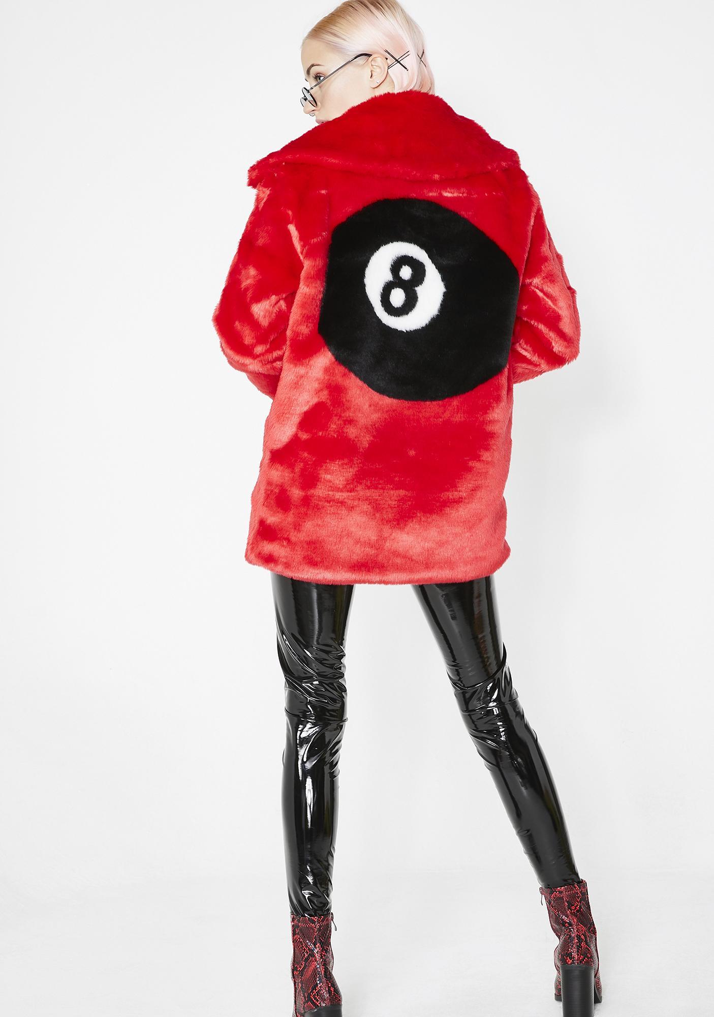 7411b9258 Racked Up Faux Fur Jacket