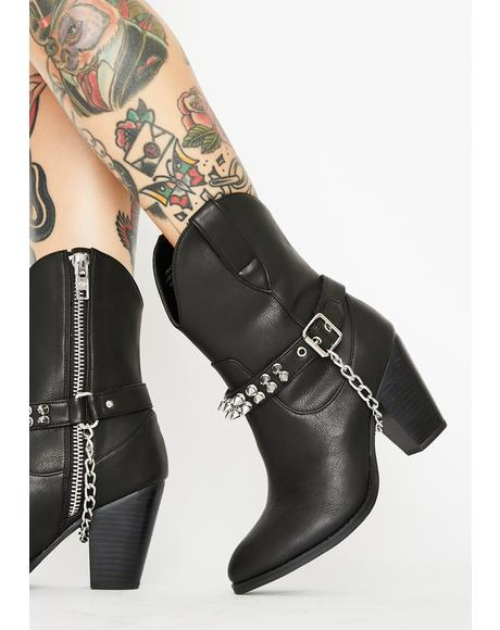 Punk Rodeo Cowboy Boots
