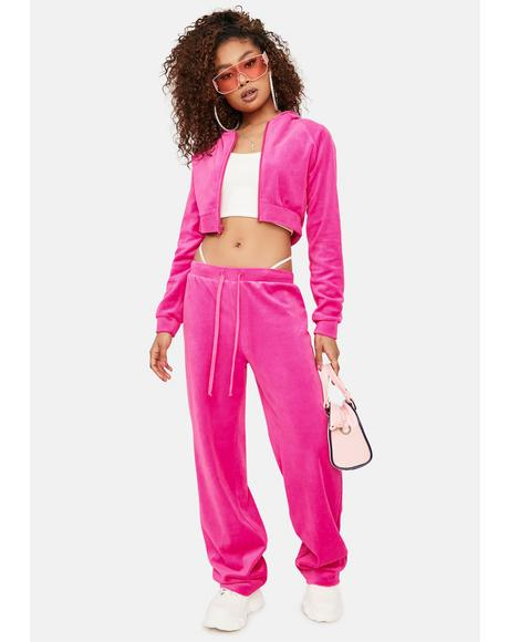 Sweet Y2K Dreams Velour Tracksuit