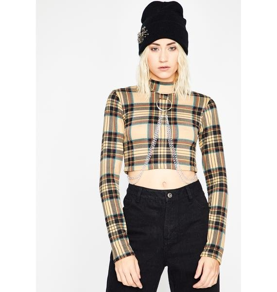 Twisted Trick Crop Top