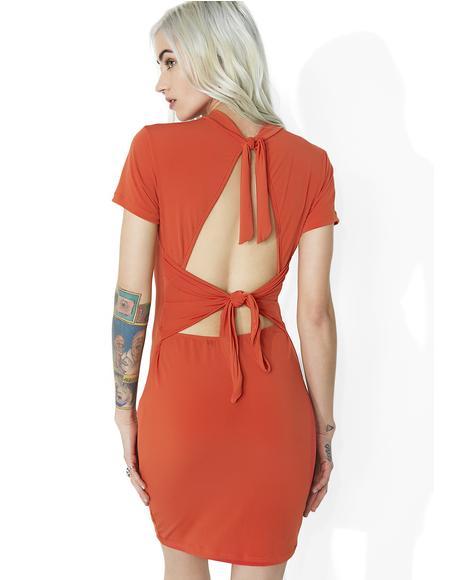 Sunrise Koney Knot Dress