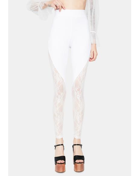 Chill Retro Affair Lace Leggings