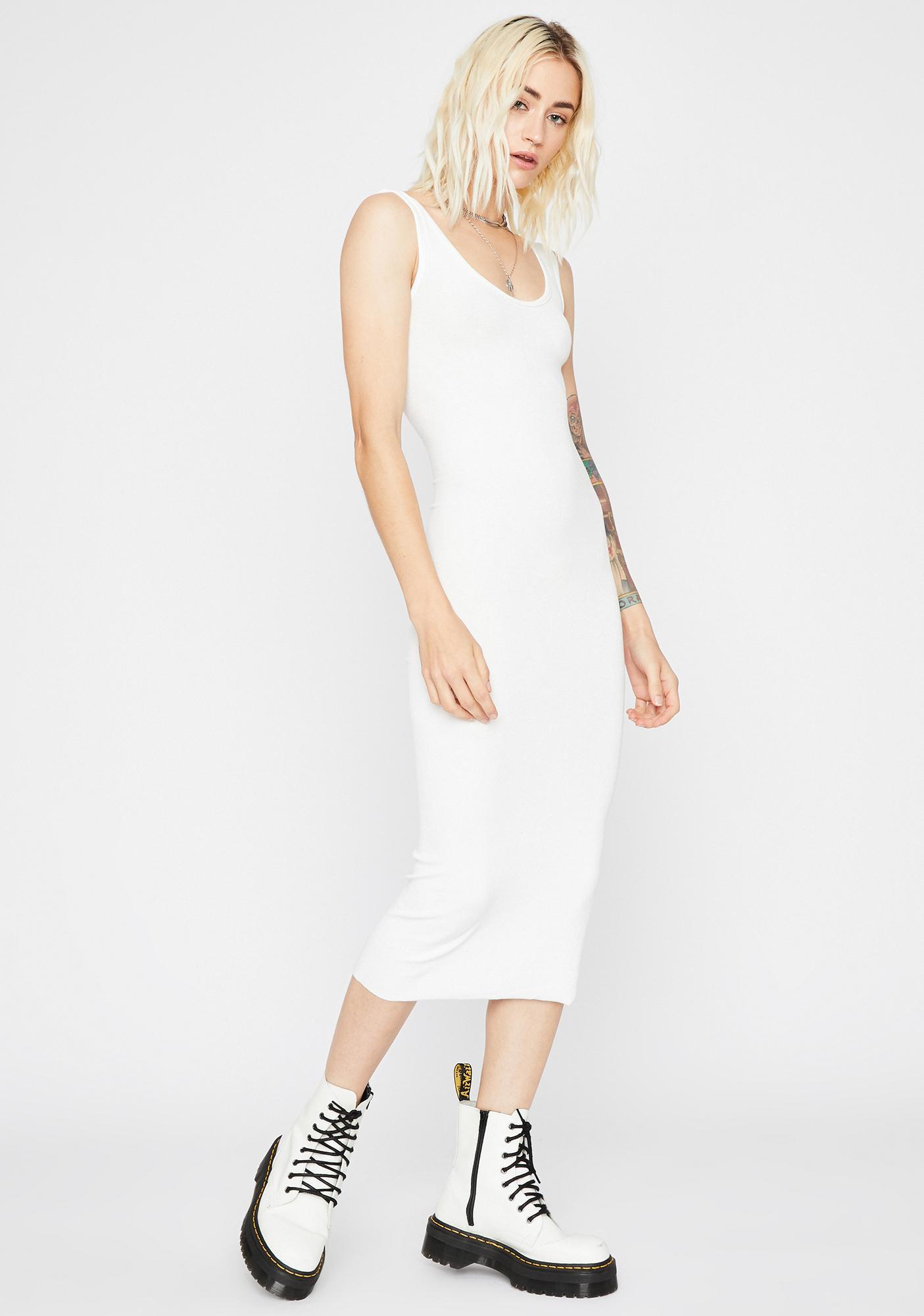 Plain N' Simple Midi Dress