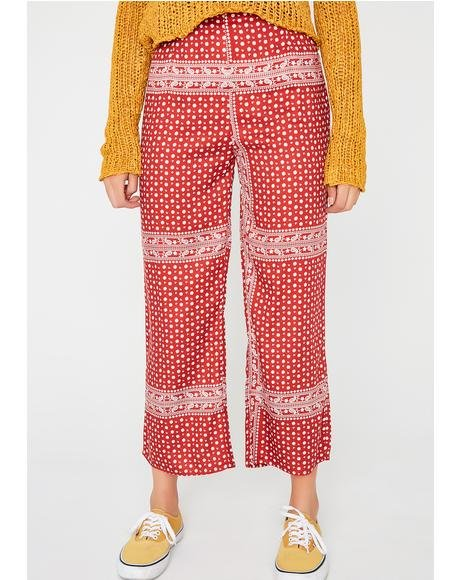 Love Culture Crop Pants
