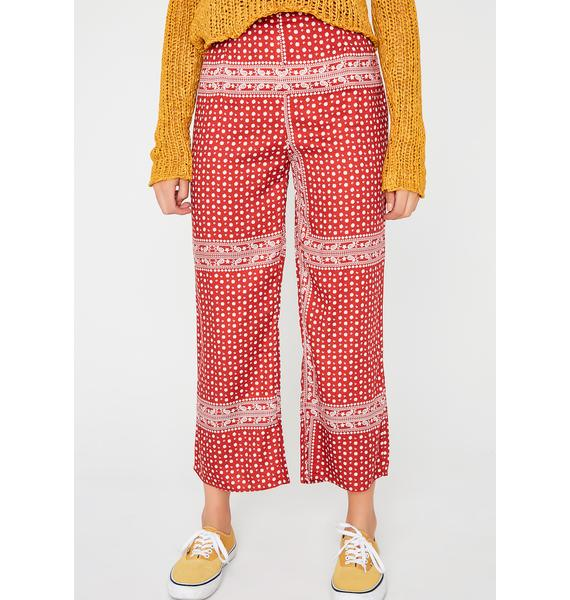 Love Culture Crop Pants