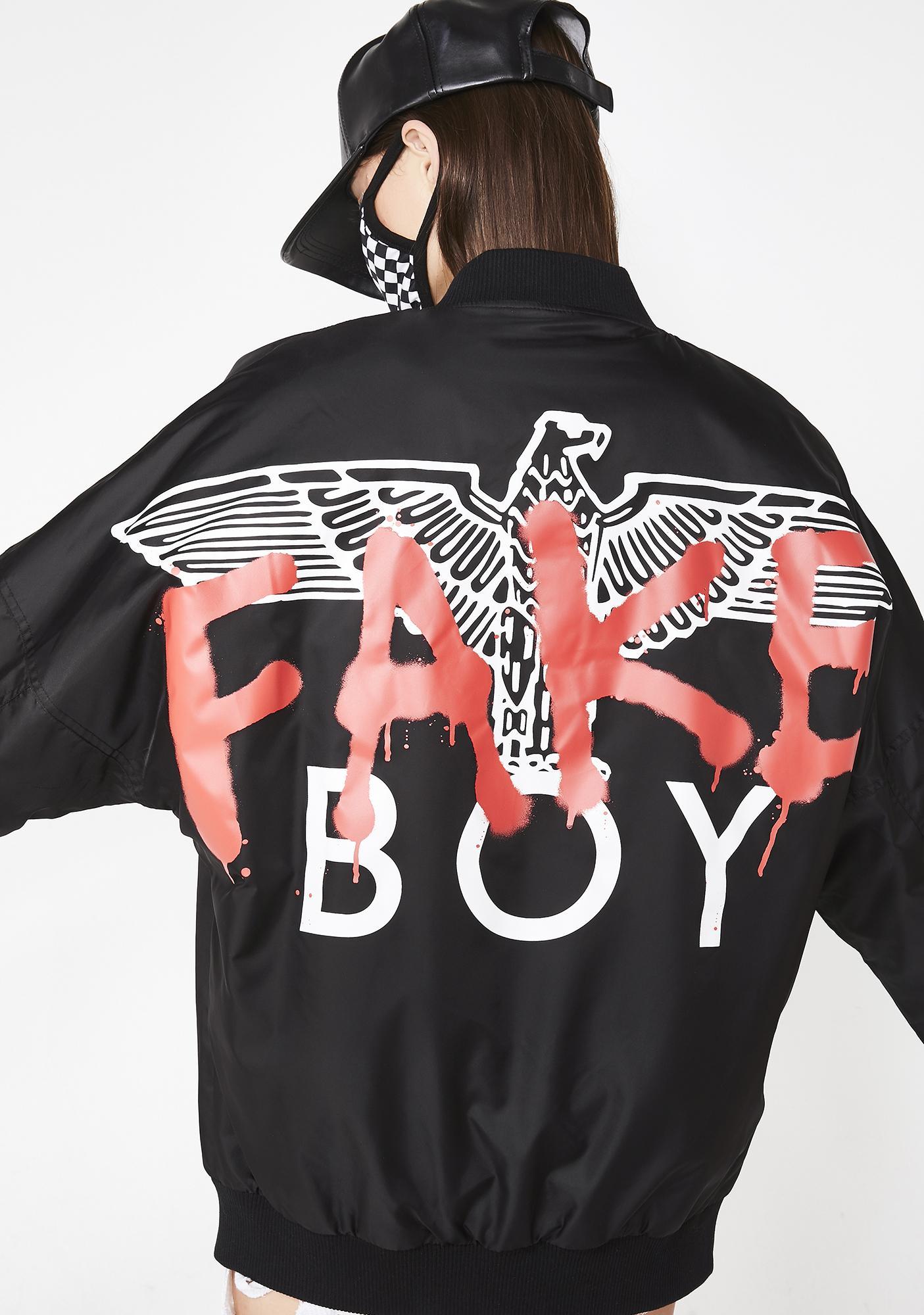 ffac4349701 BOY London Boy Fake Drop Shoulder Jacket | Dolls Kill