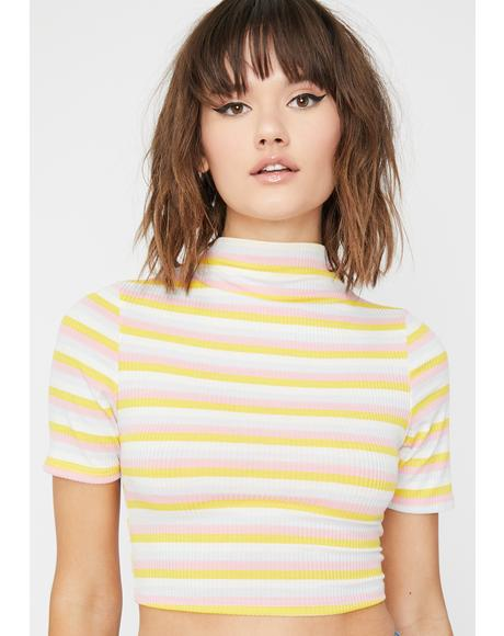 Precious Cargo Striped Top