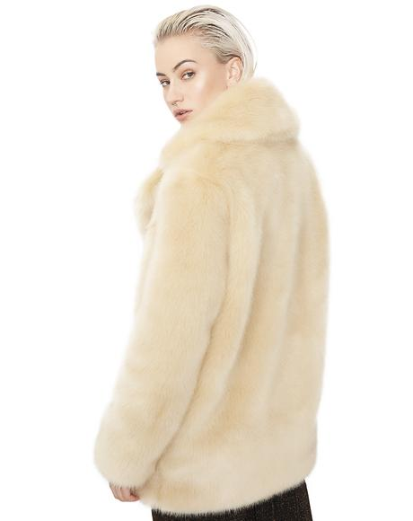 Blonde Heather Coat