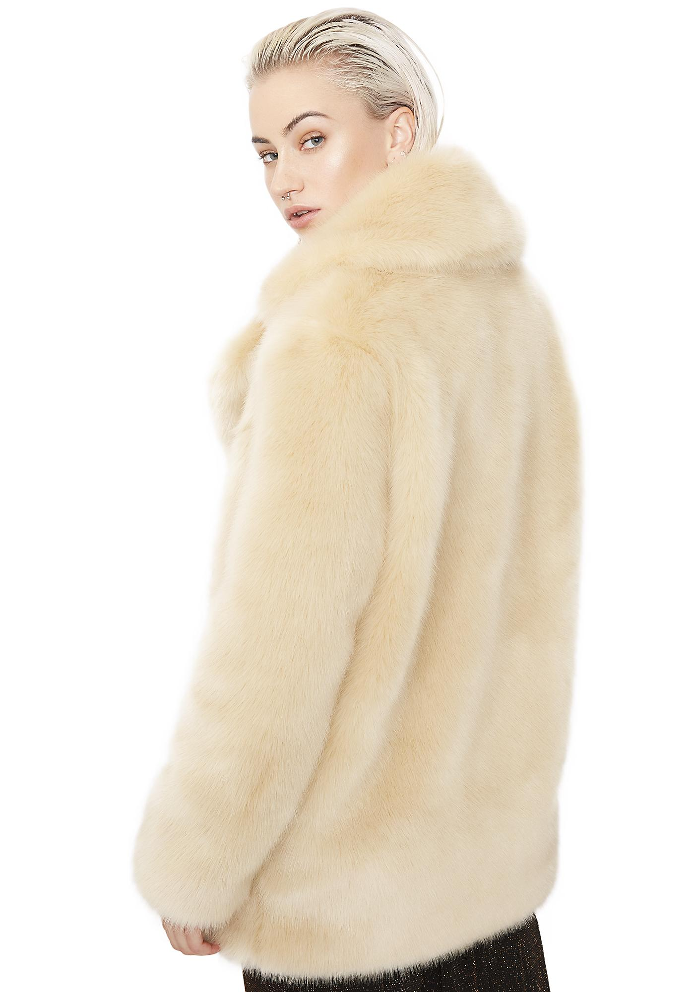 Jakke Blonde Heather Coat