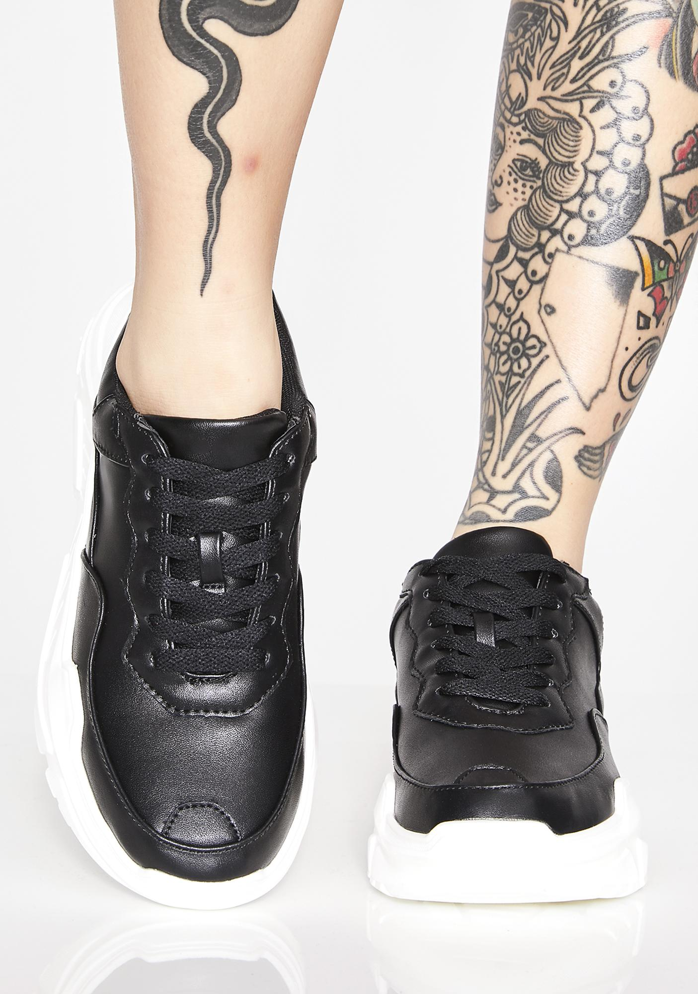Onyx Talk Back Chunky Sneakers