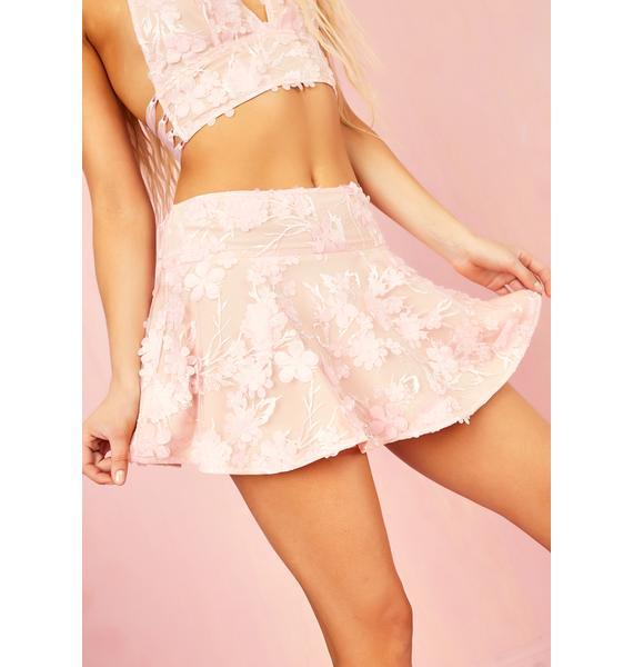 Sugar Thrillz Petal Posse Mini Skirt