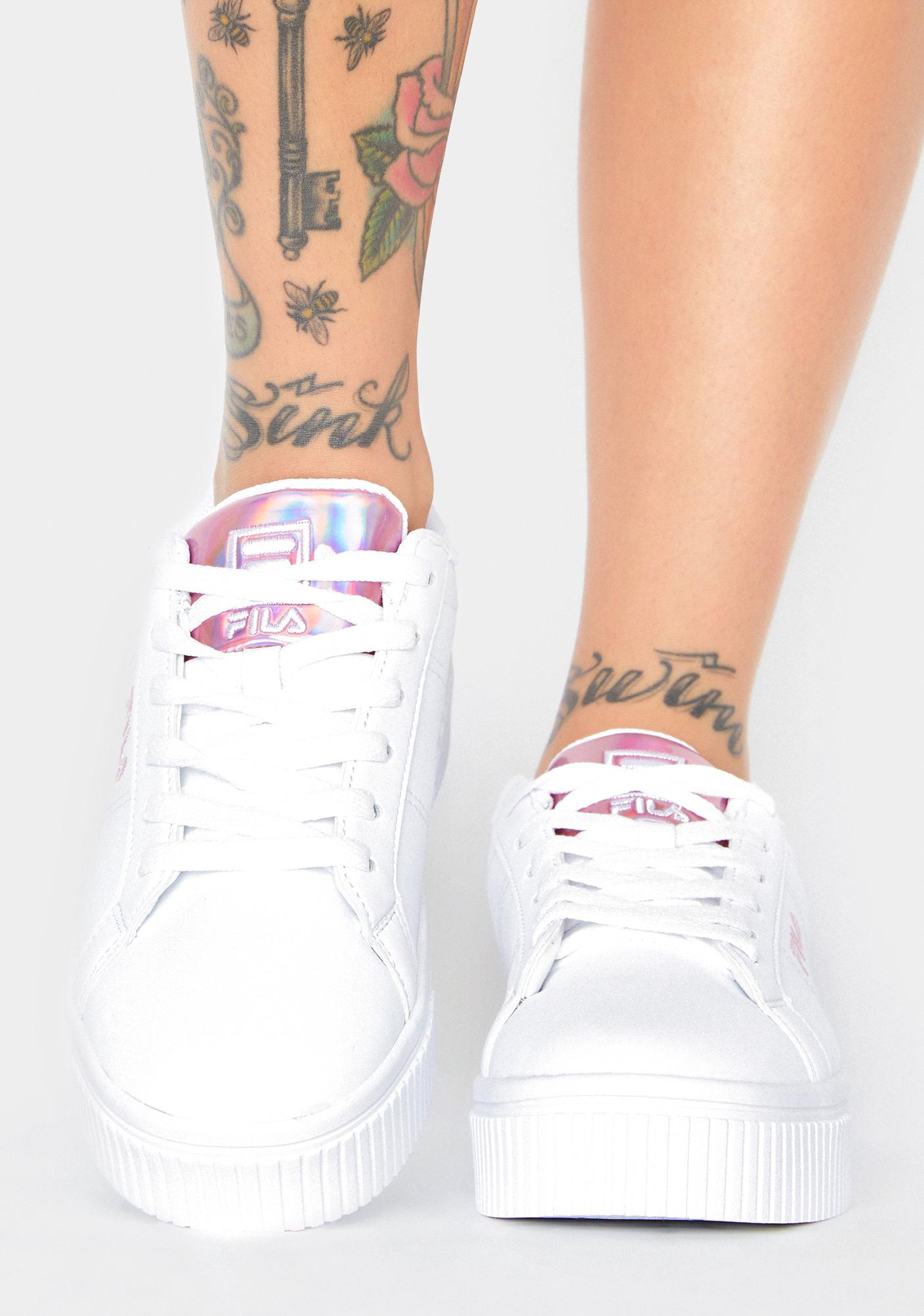 Fila Pink Panache 19 Classic Sneakers