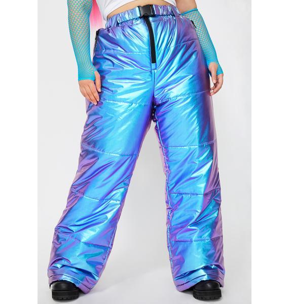 Club Exx Survive Subzero Metallic Snow Pants
