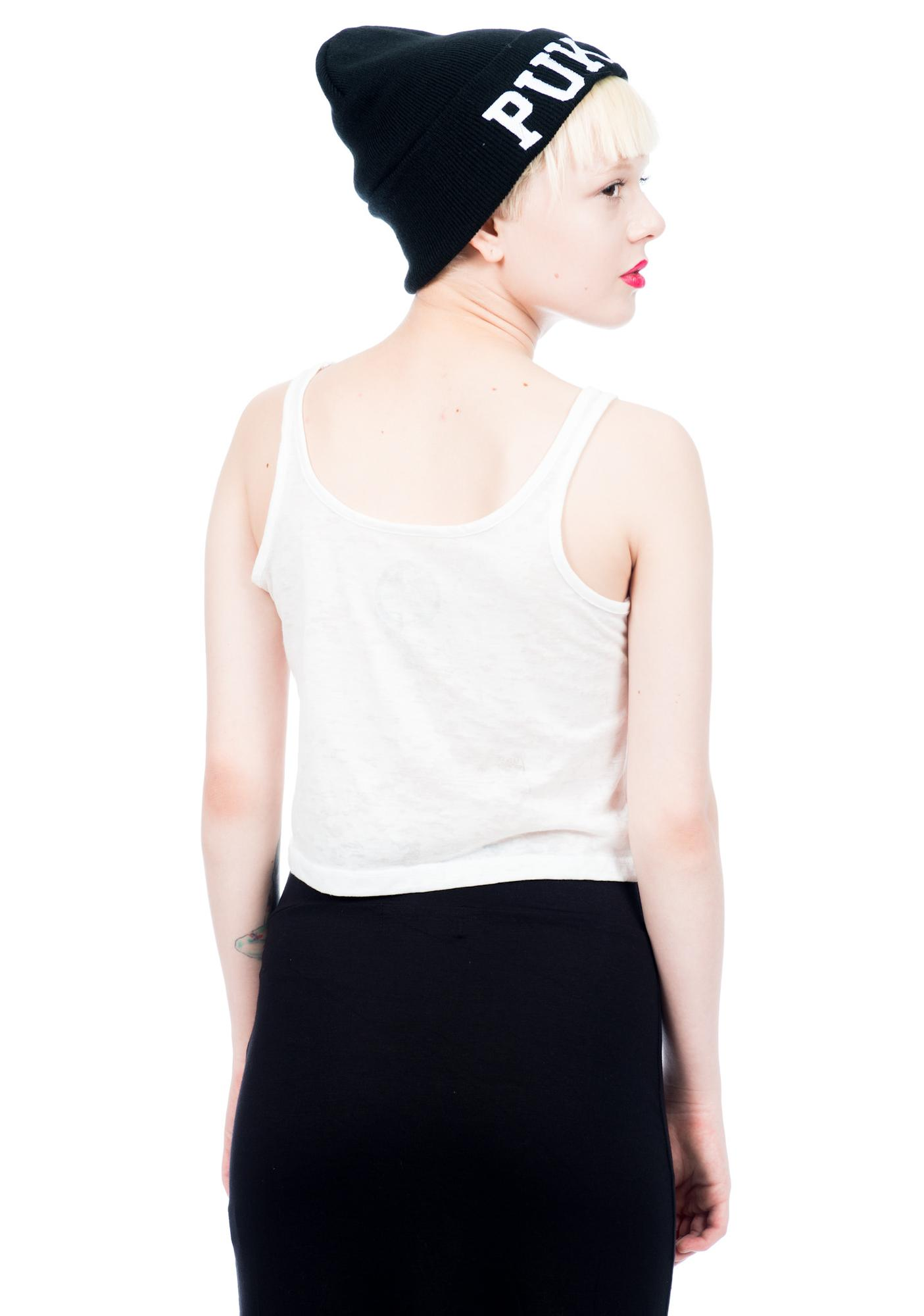 Civil Clothing Tri Faith Crop Tank