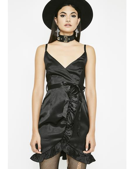 Coven Cutie Ruffled Dress