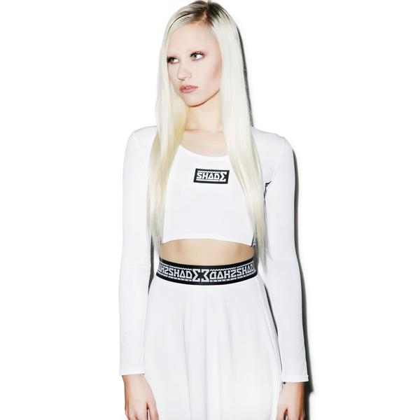 Shade London So Shady Long Sleeved Crop Top