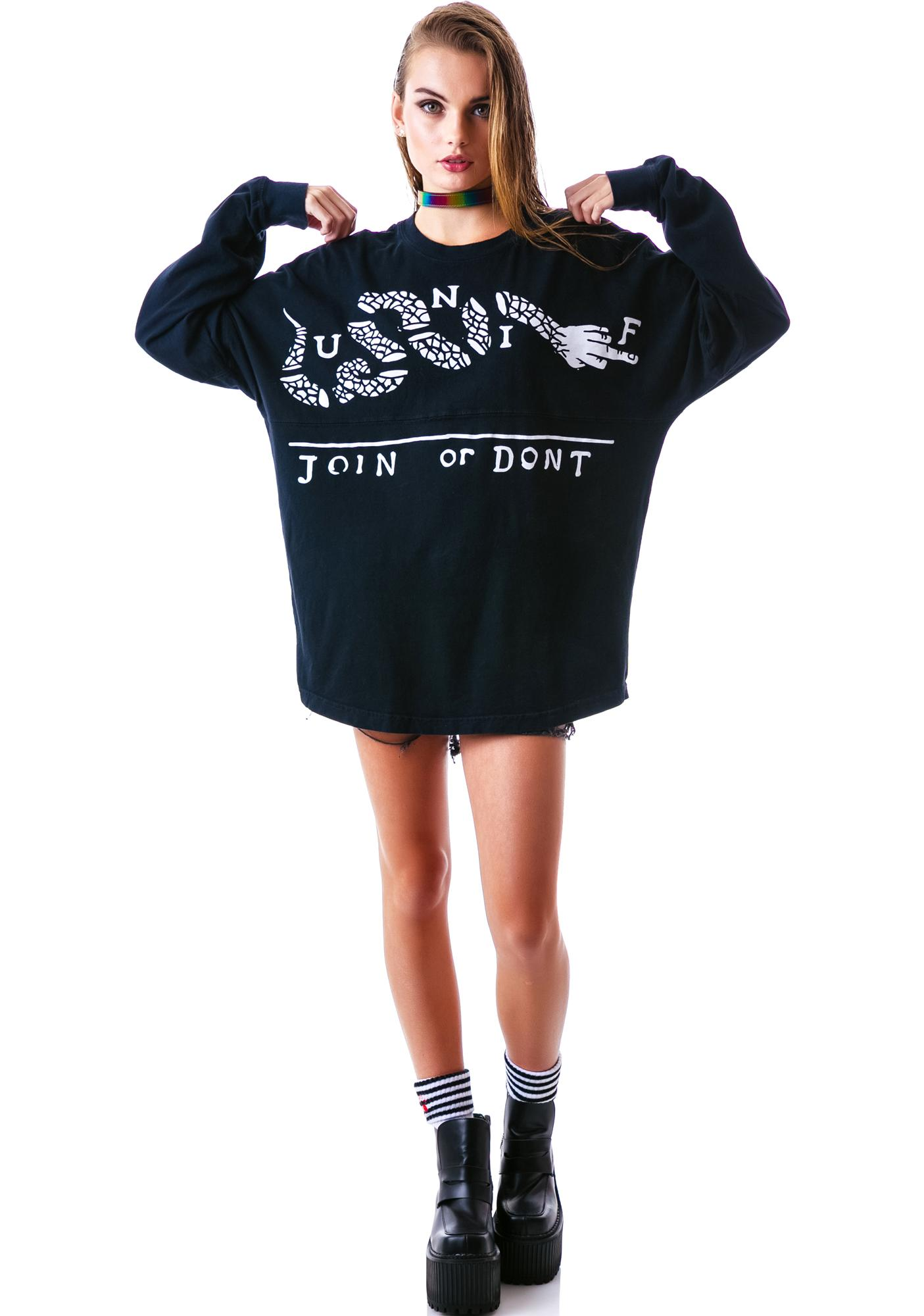 UNIF Join or Don't Long Sleeve