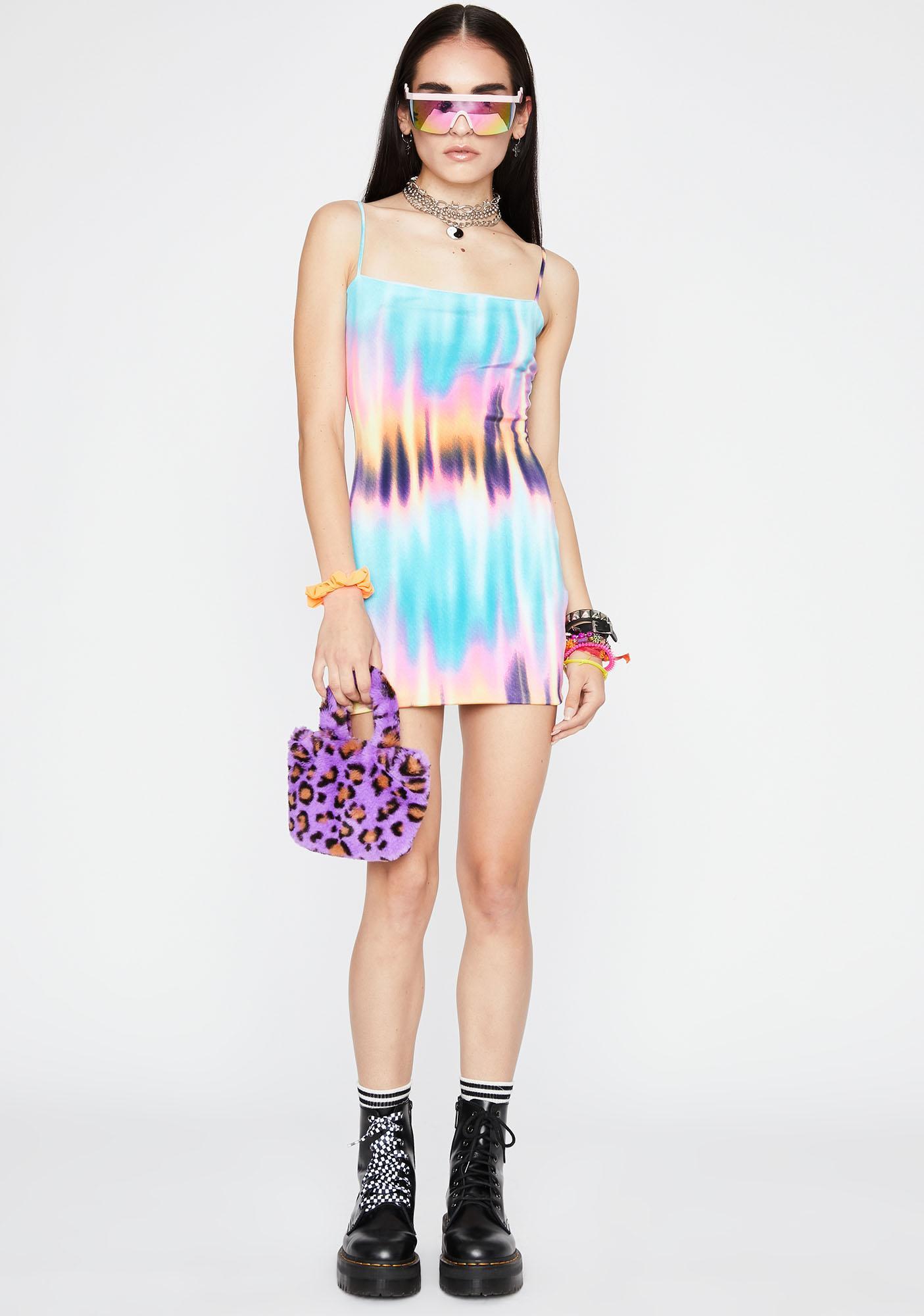 Ice Melt With You Tie Dye Dress