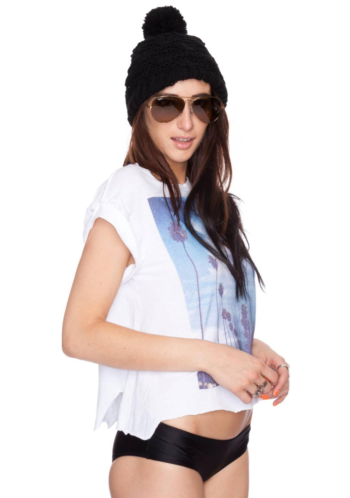 Wildfox Couture I Love Los Angeles RIP Back Tee