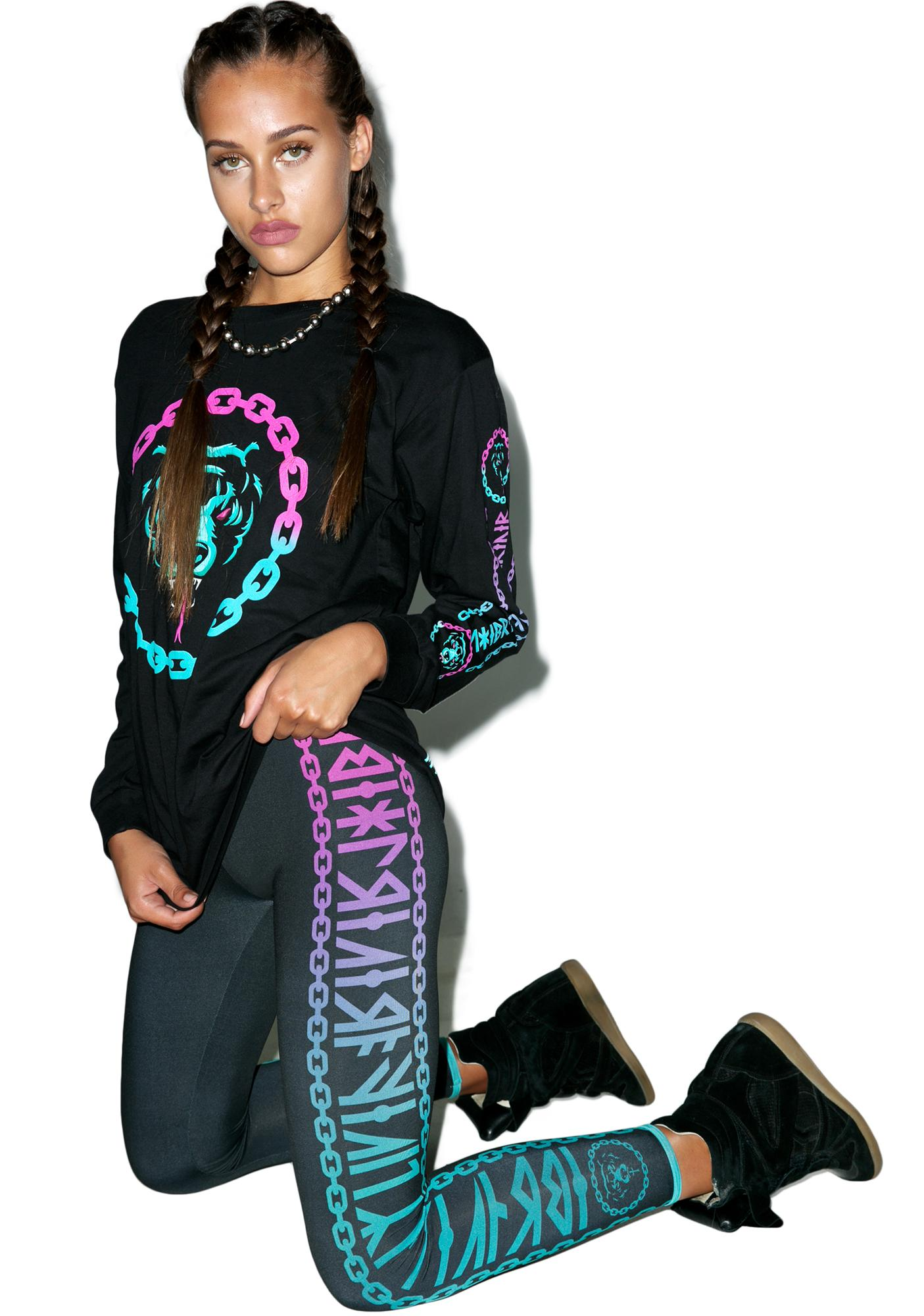 Long Clothing Mishka 2.0 Death Adder Chain Leggings