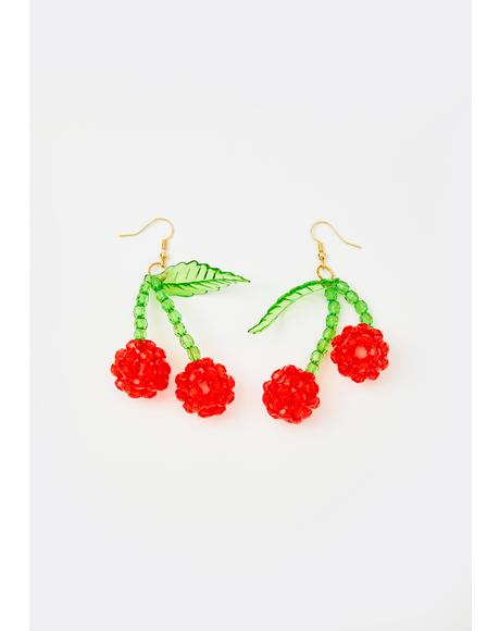 Sweet Disposition Beaded Earrings