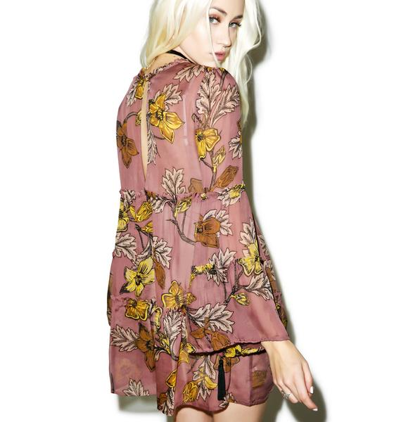 For Love & Lemons Santa Rosa Mini Dress