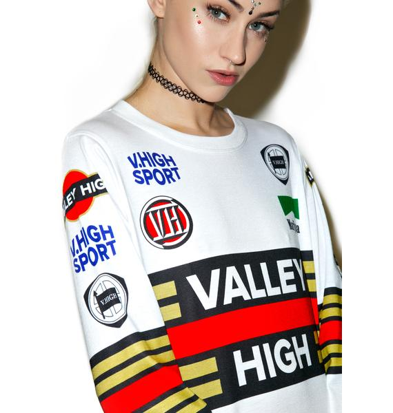 Valley High Valley Sports Long Sleeve Tee
