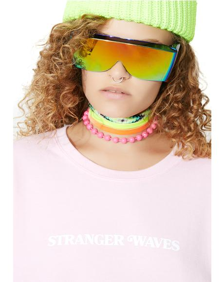 Stranger Waves Crewneck Sweatshirt