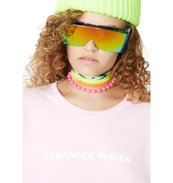 Surf is Dead Stranger Waves Crewneck Sweatshirt