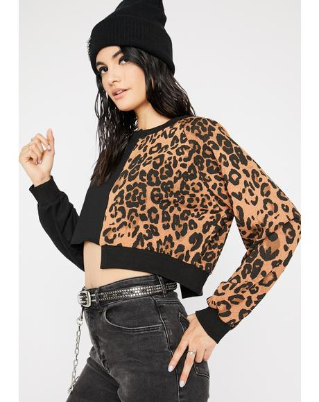 Dead On Arrival Leopard Sweater