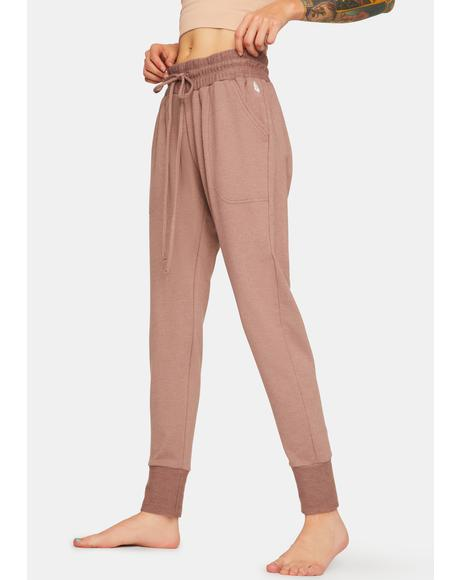 Elderberry Sunny Skinny Sweatpants