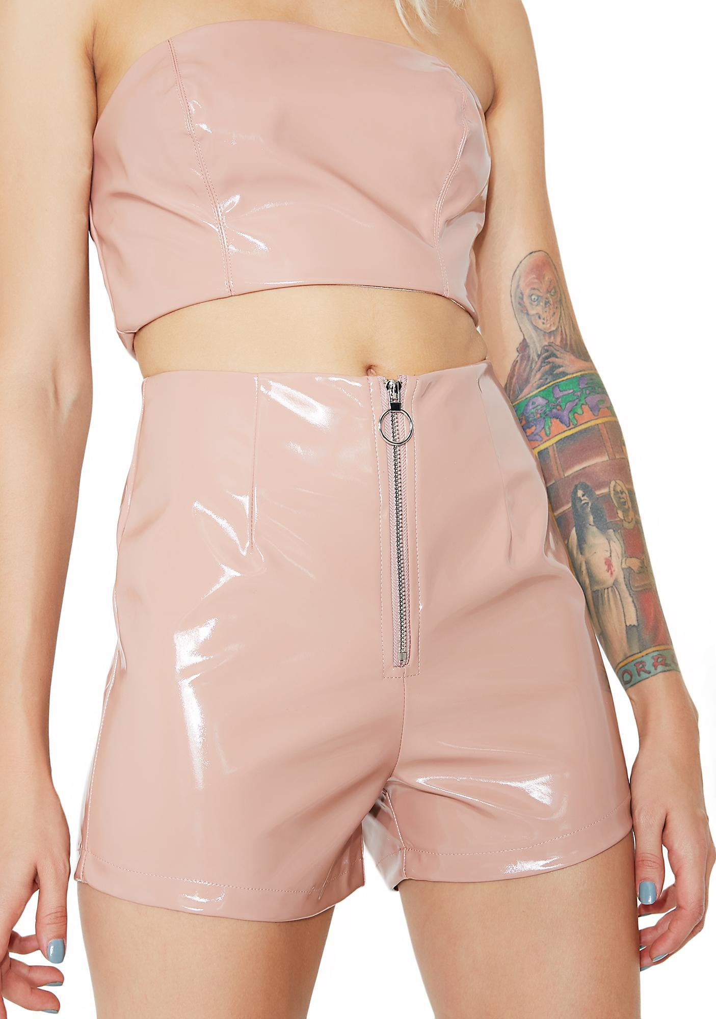 Naked Truth Vinyl Shorts