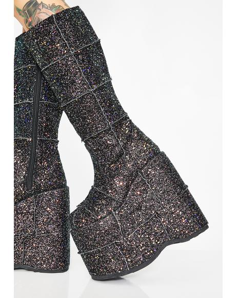 Night Sparklin' Opulence UV Stack Platforms