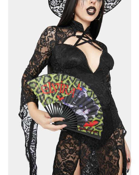 Elvira Leopard Fan