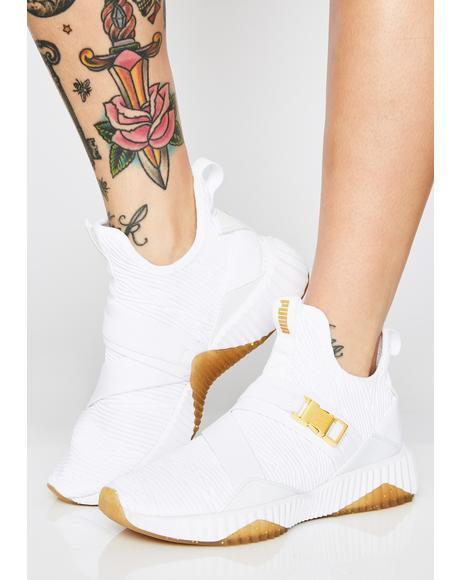 Defy Varsity Mid Sneakers