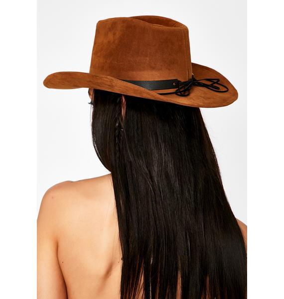 Cognac On The Crossroads Cowboy Hat