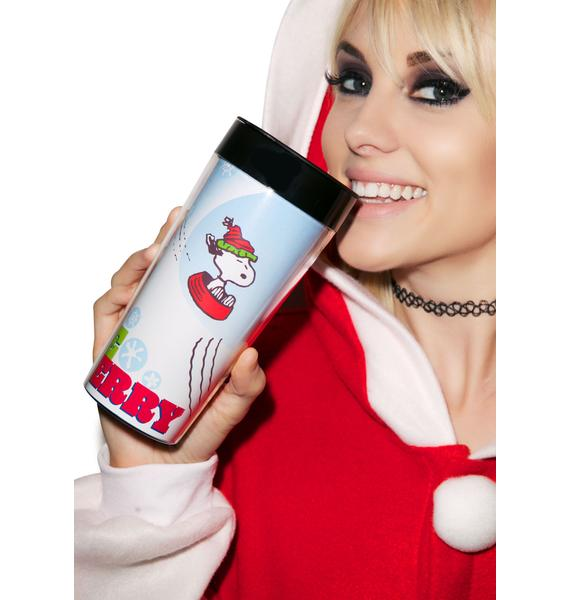 Peanuts Be Merry Travel Mug