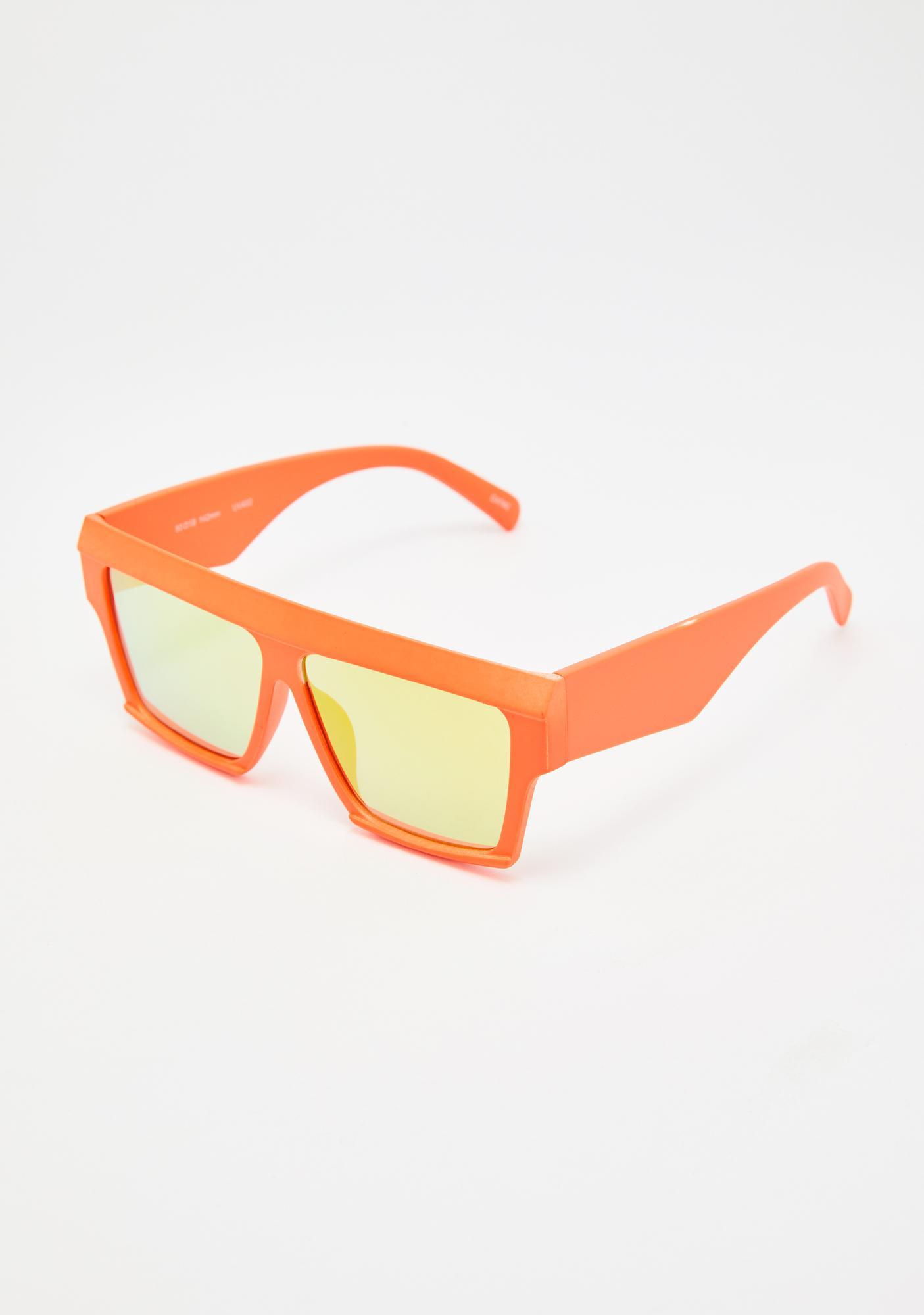 Summer Serenity Mirrored Sunglasses