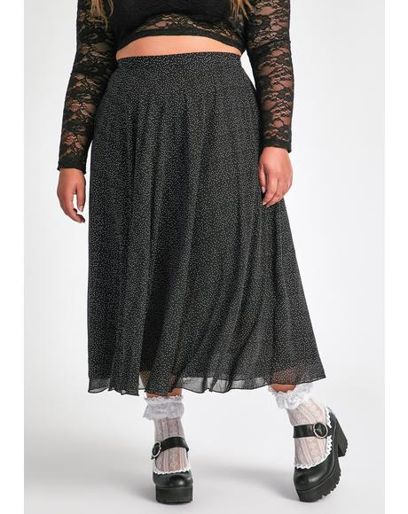 Major Static Buzz Midi Skirt