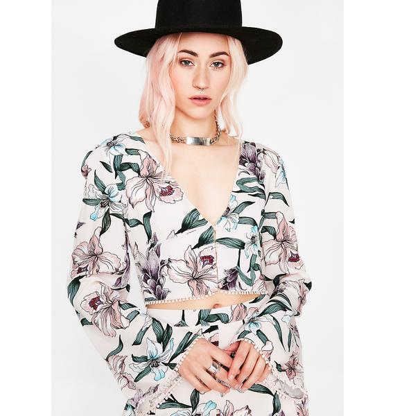 Blushin' Babe Floral Top