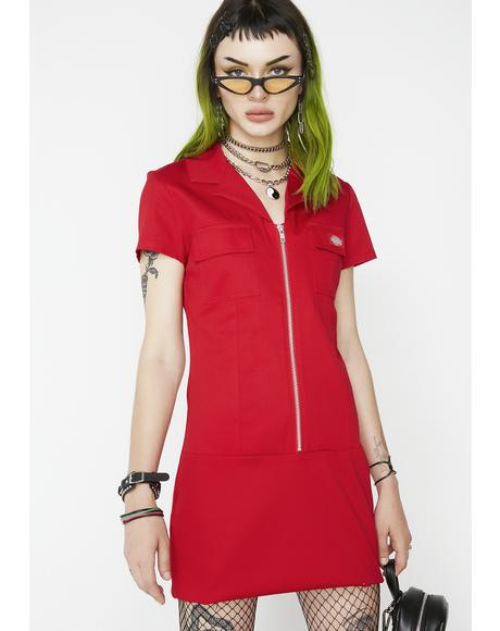 Bloody Annie Zipper Dress