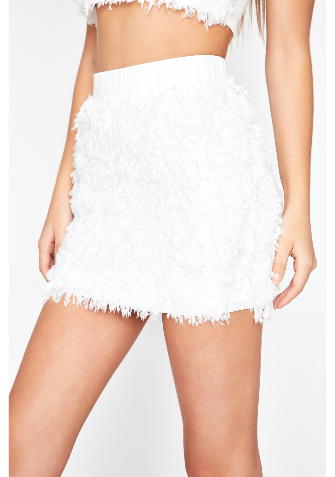 This Feeling Fuzzy Skirt