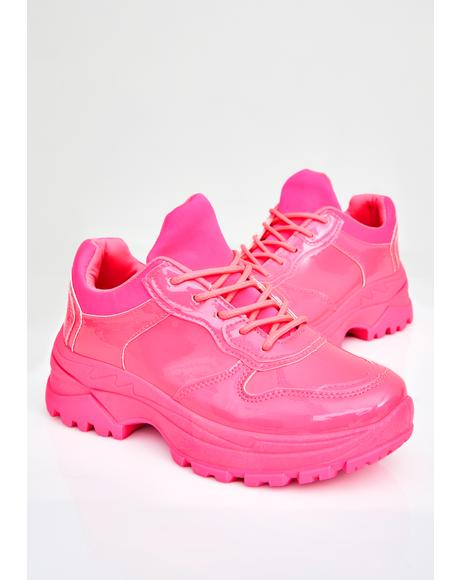 Lolly Super Bee Platform Sneakers