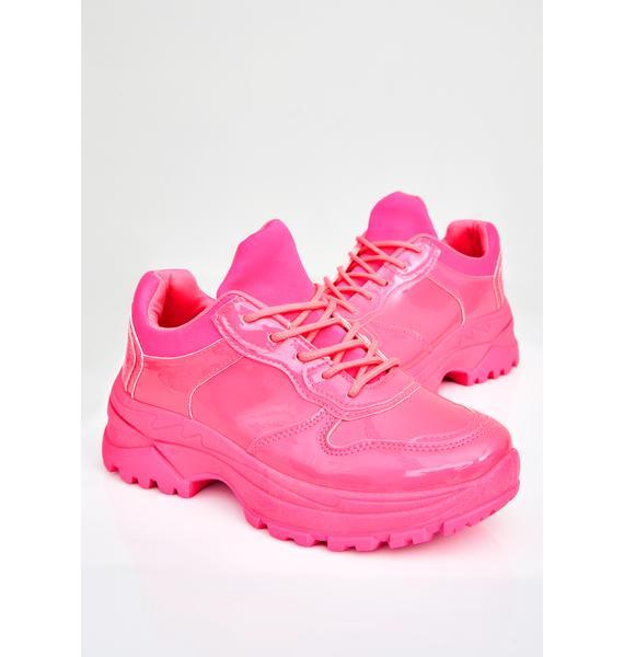 Lolly Super Bee Platform Sneakers
